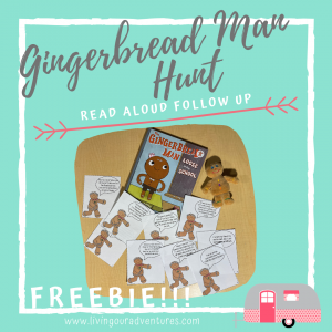 Gingerbread Man Hunt Product Cover