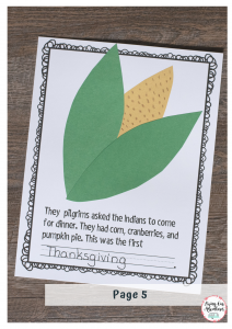 Thanksgiving Book Page 5