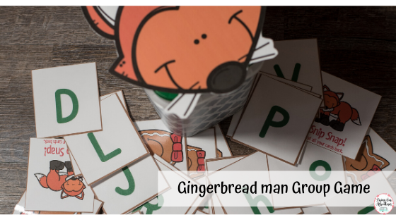 Gingerbread Man group game
