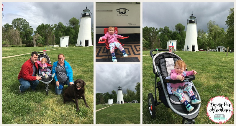 Elk Neck State Park, camping, Turkey Point Light House