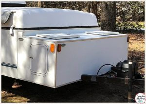 Front Storage Box Pop Up Camper