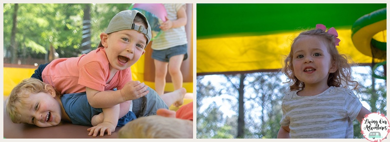 Lake Somerset Campground Bounce House