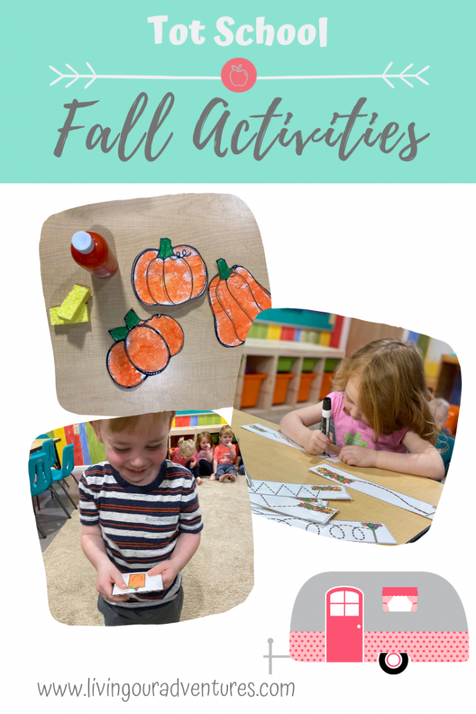 Tot School Fall Activities