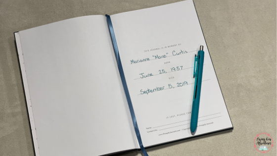 Remembrance Journal