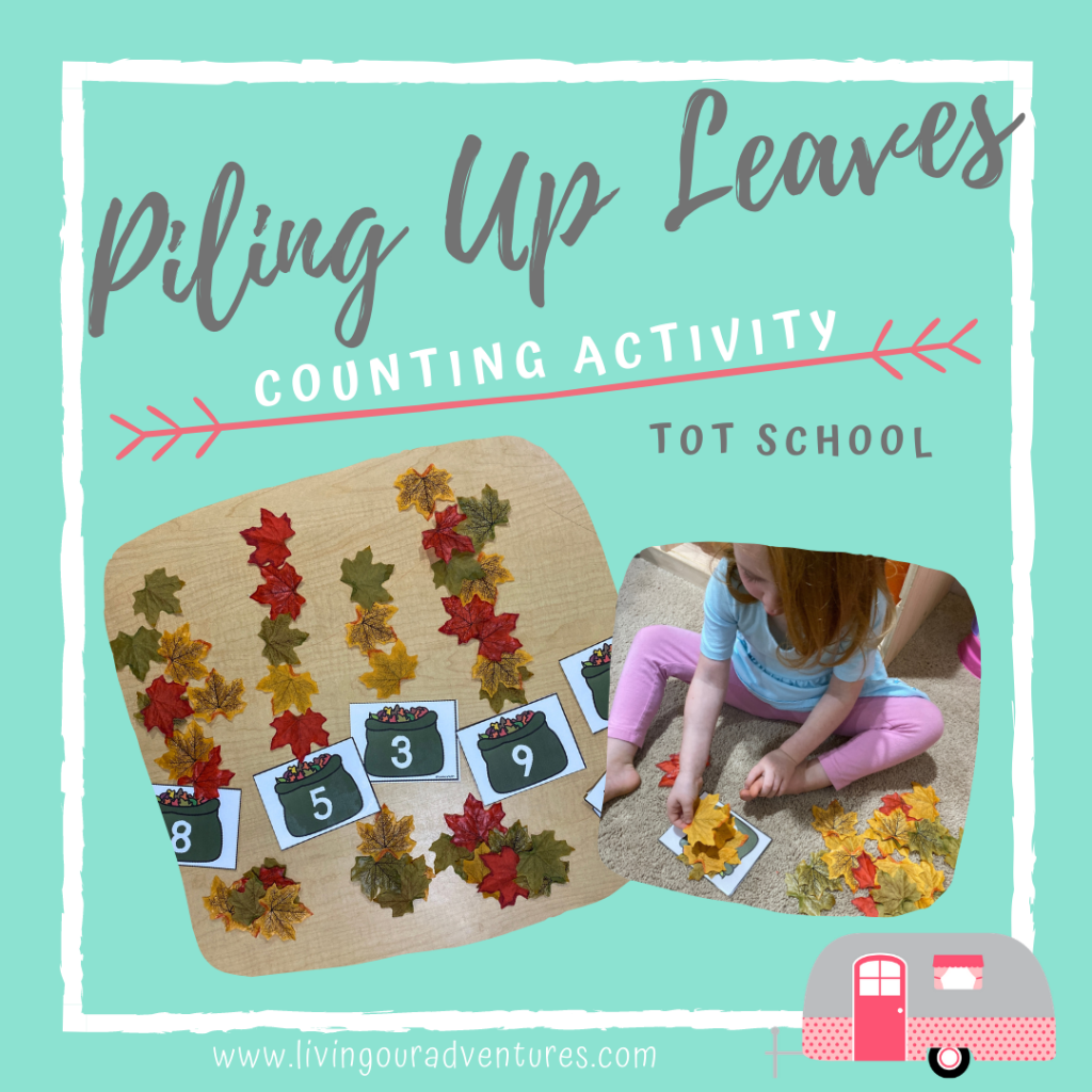 Piling Up Leaves_Counting Activity