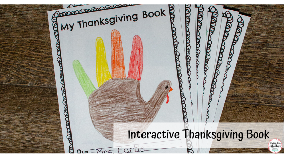 Interactive Thanksgiving Book