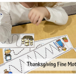 Tot School Thanksgiving
