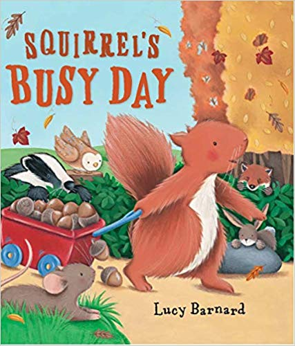Squirrels Busy Day- Read Aloud