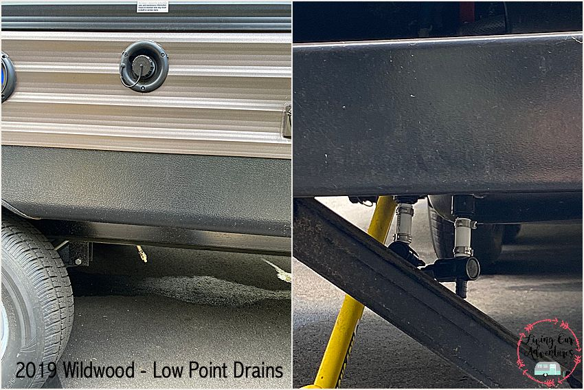2019 Wildwood Low Point Drains