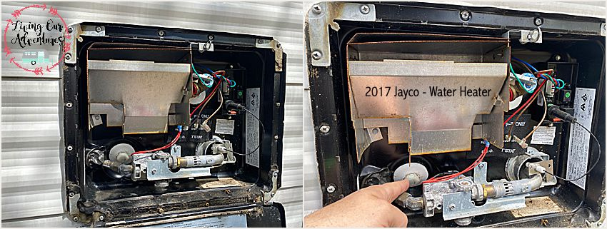 2017 Jayco Water Heater
