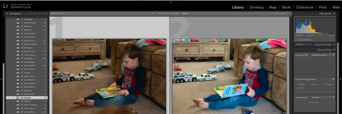 Lightroom Screen Shot
