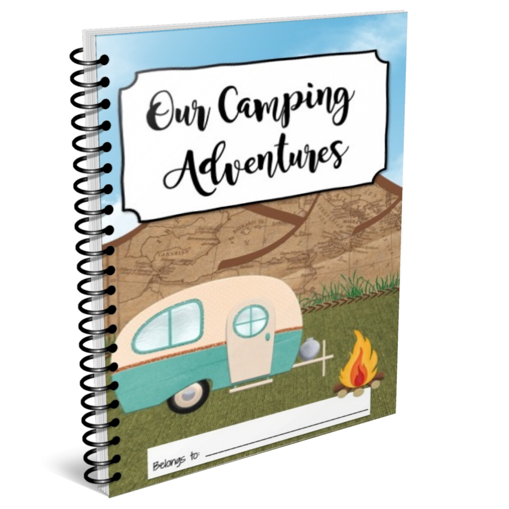 Our Camping Adventures Memory Book